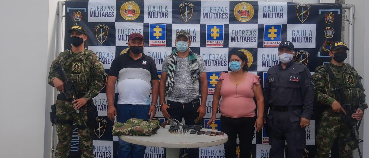 Caen traficantes de armas en el Tolima 3