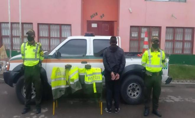 Dos casos de falsos policías tratando de robar camiones de carga 3