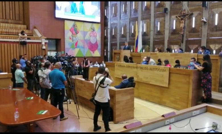 Luis Fernando Suárez Vélez es nombrado gobernador encargado de Antioquia 1