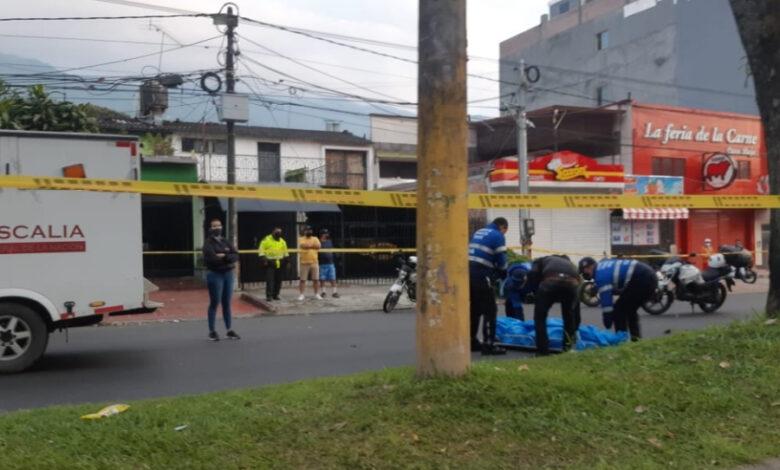 Motociclista arrolló a un peatón en Ibagué causándole la muerte 1