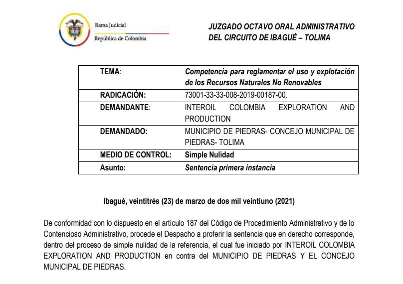Ganan demanda de nulidad en contra del Municipio de Piedras que prohíbe la minería 12