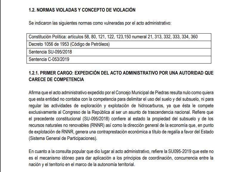 Ganan demanda de nulidad en contra del Municipio de Piedras que prohíbe la minería 13