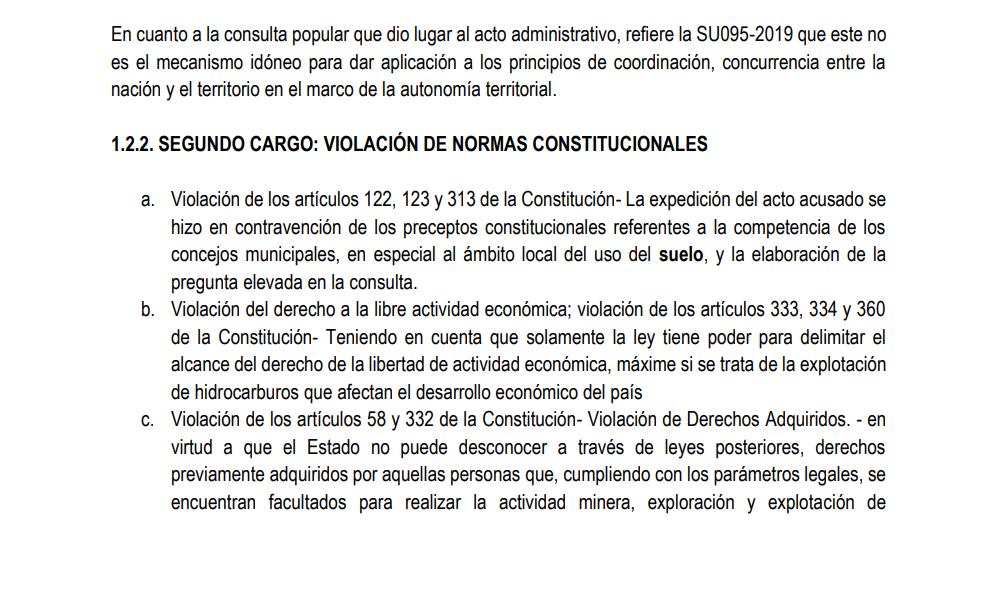 Ganan demanda de nulidad en contra del Municipio de Piedras que prohíbe la minería 14