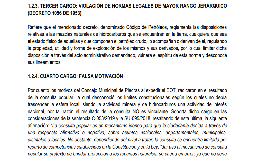Ganan demanda de nulidad en contra del Municipio de Piedras que prohíbe la minería 15