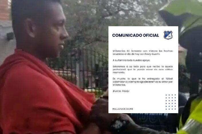 Millos ofrece apoyo profesional a Guarín y su familia 3