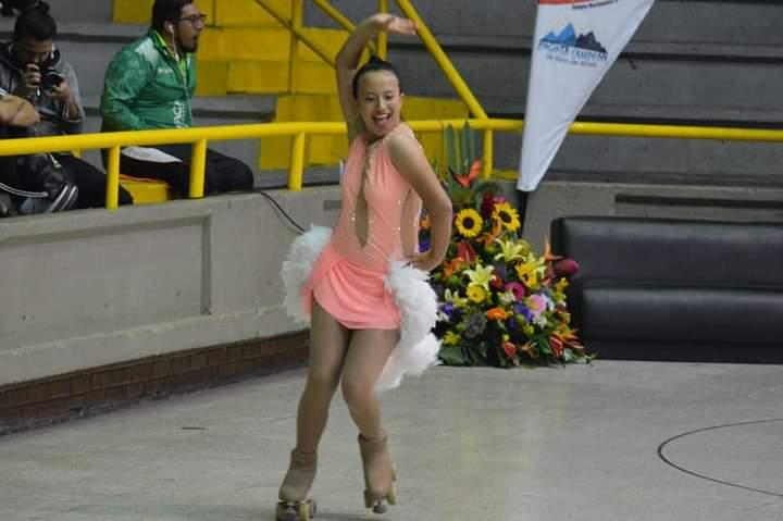 Patinaje artístico tolimense en la selección Colombia. 6