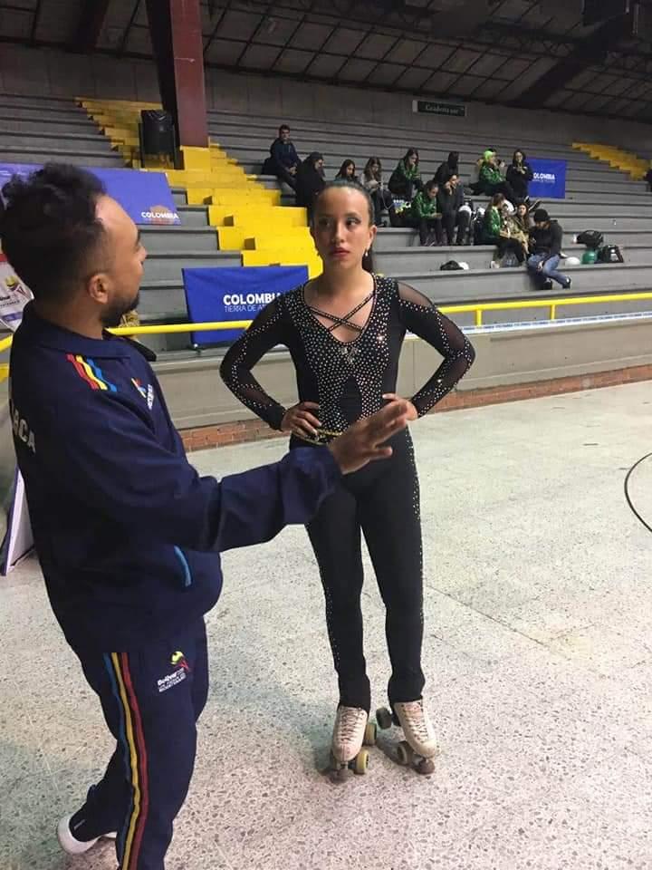 Patinaje artístico tolimense en la selección Colombia. 7