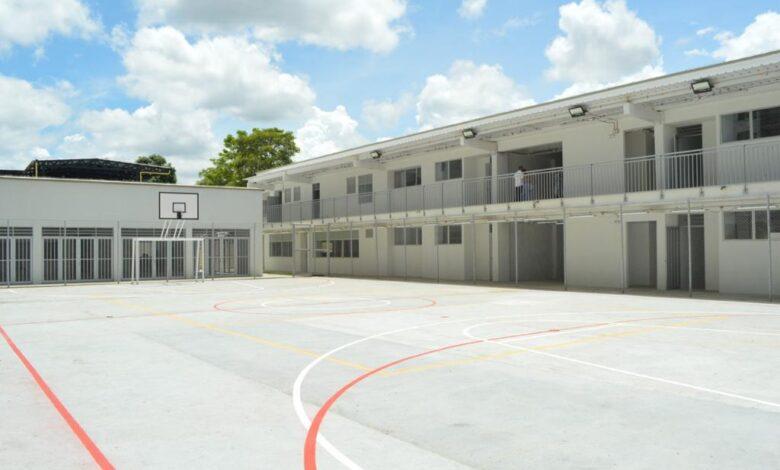 Más de 600 estudiantes se beneficiarán con el colegio Alfonso Palacio Rudas 1