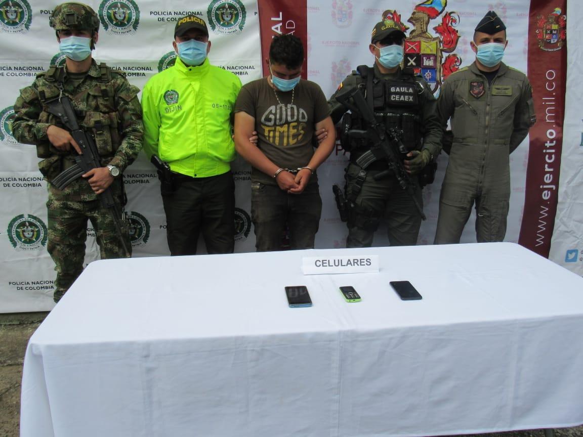 Capturan cabecilla de disidencias en vereda de Ibagué 7