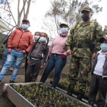600 frailejones se sembraron en la reserva El Toro del municipio de Murillo 4