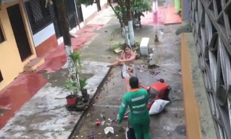 Con un machete amenazó a trabajadora interaseo 7