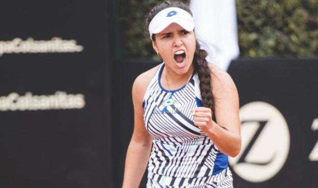Maria Camila Osorio Campeona de la Copa Colsanitas de Tenis. 4