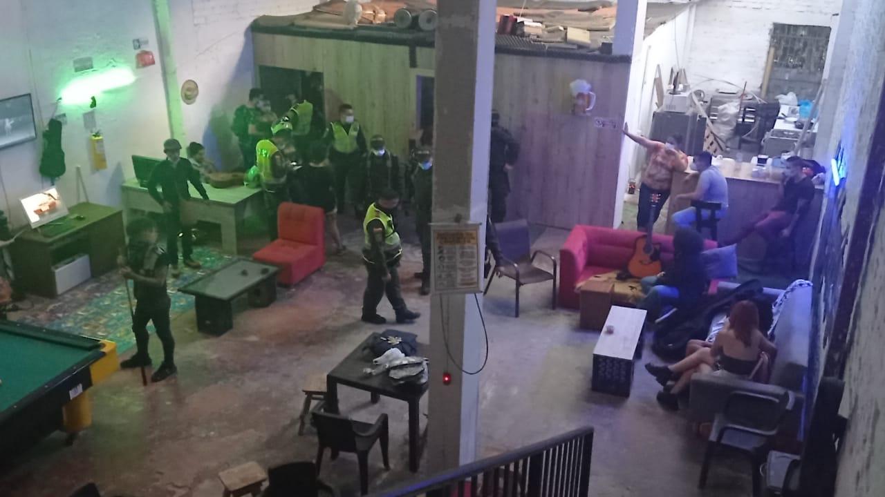Hallan 15 menores de edad en qué fiesta clandestina en el centro de Ibagué 2