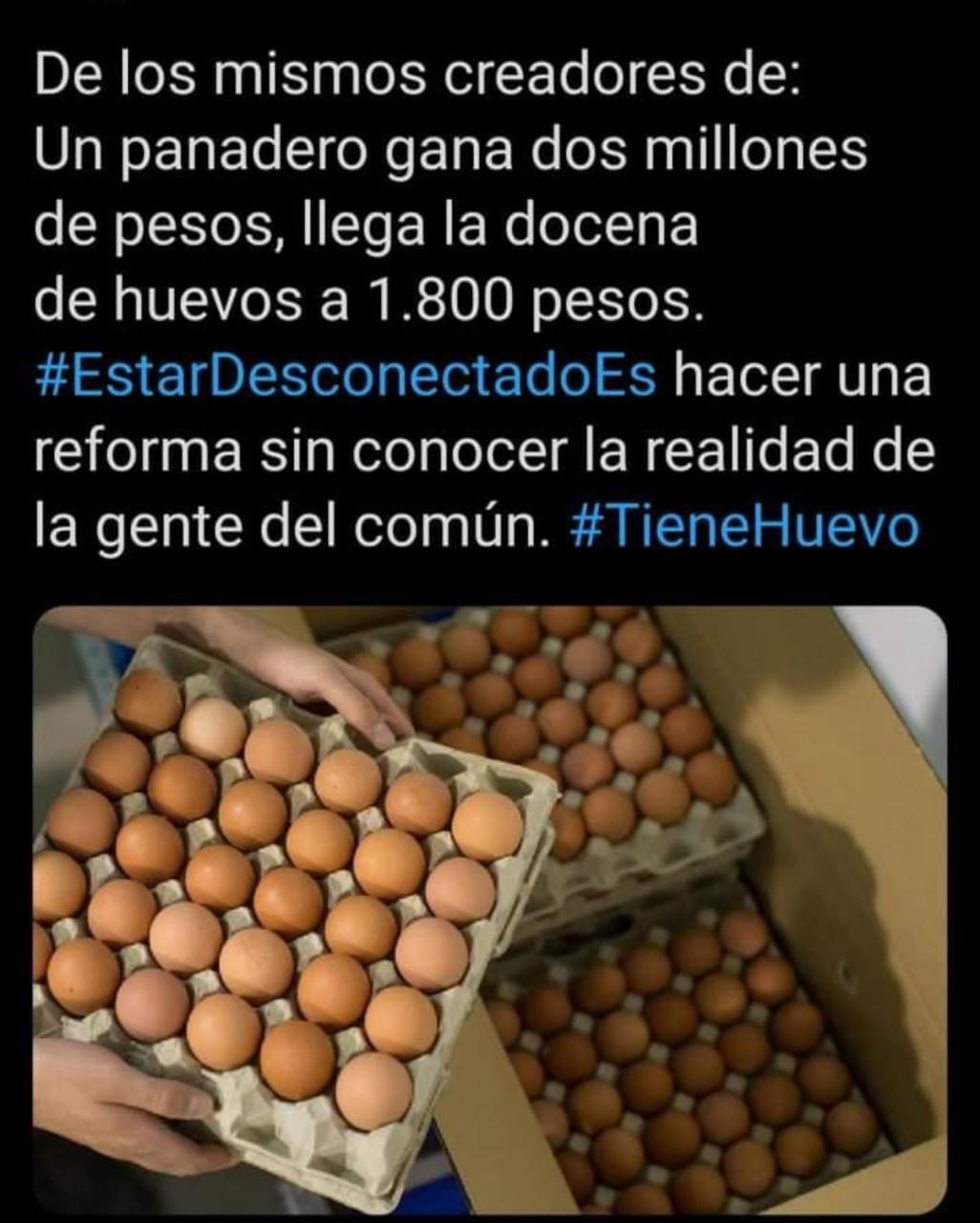 ¿Sabe cuánto vale la cubeta de huevos? O esta igual al ministro Alberto Carrasquilla 4