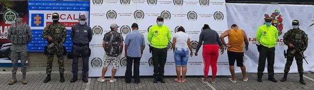 """A la cárcel """"Los Tierreros"""", que azotaban dos poblaciones con la venta de estupefacientes 1"""