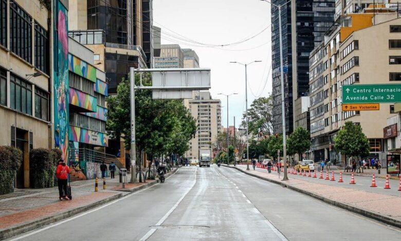 Sábado 1 de mayo bajo cuarentena general en Bogotá 1