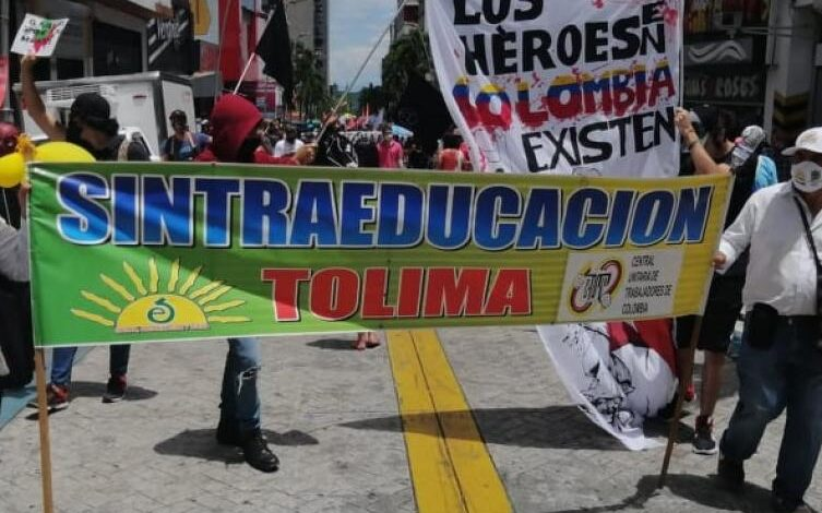 Marcha de último minuto anuncian centrales obreras en Ibagué 3