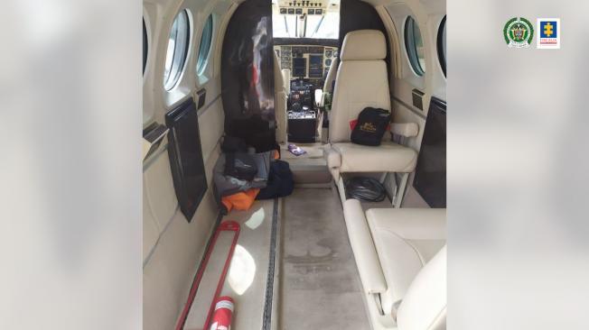 Así eran los recorridos que hacía la avioneta incautada con Cocaína en Providencia 12