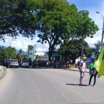 Iniciaron marchas y bloqueos por el día del trabajo en Ibagué 6