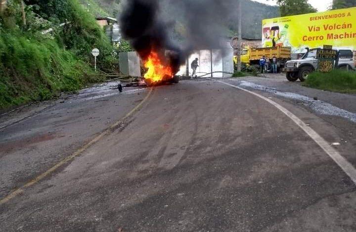 Incomunicado y sin agua amaneció municipio de Cajamarca 1