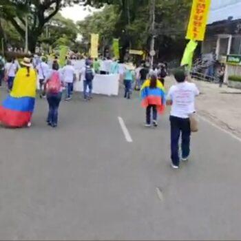 Iniciaron marchas y bloqueos por el día del trabajo en Ibagué 2