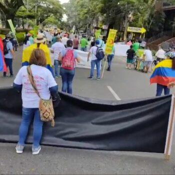 Iniciaron marchas y bloqueos por el día del trabajo en Ibagué 3