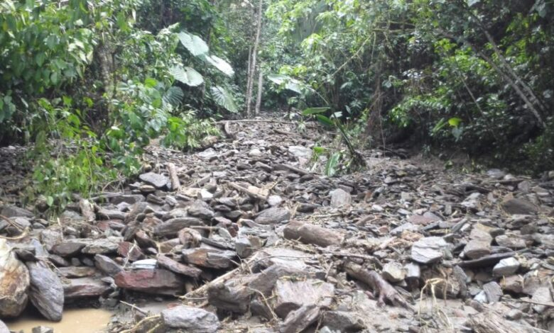 Alcalde de Villahermosa toca puertas del Gobierno Departamental para superar colapso de vías terciarias 1
