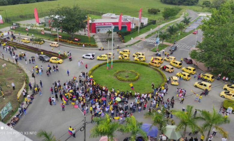 En tranquilidad transcurren las manifestaciones del 7º día de paro en Ibagué 3