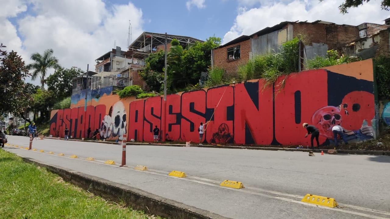 En tranquilidad transcurren las manifestaciones del 7º día de paro en Ibagué 4