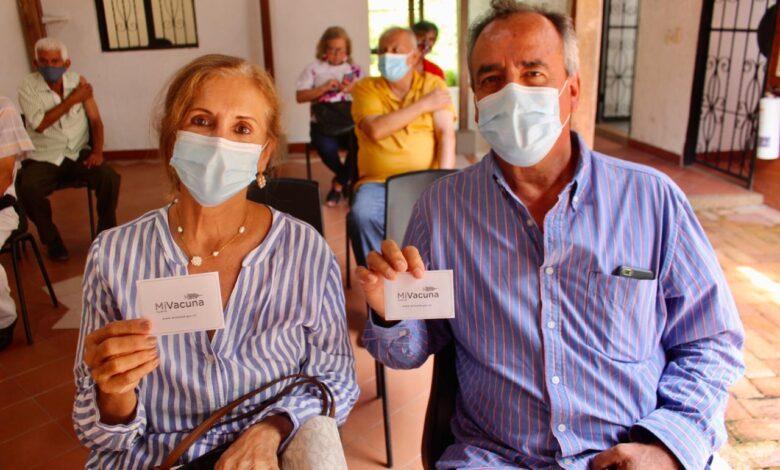 Inicia aplicación de segunda dosis de Pfizer para adultos mayores de 65 años en Ibagué 1