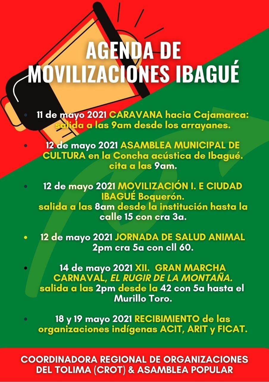Paro nacional este miércoles 12 de mayo: estas son las protestas y marchas convocadas 7