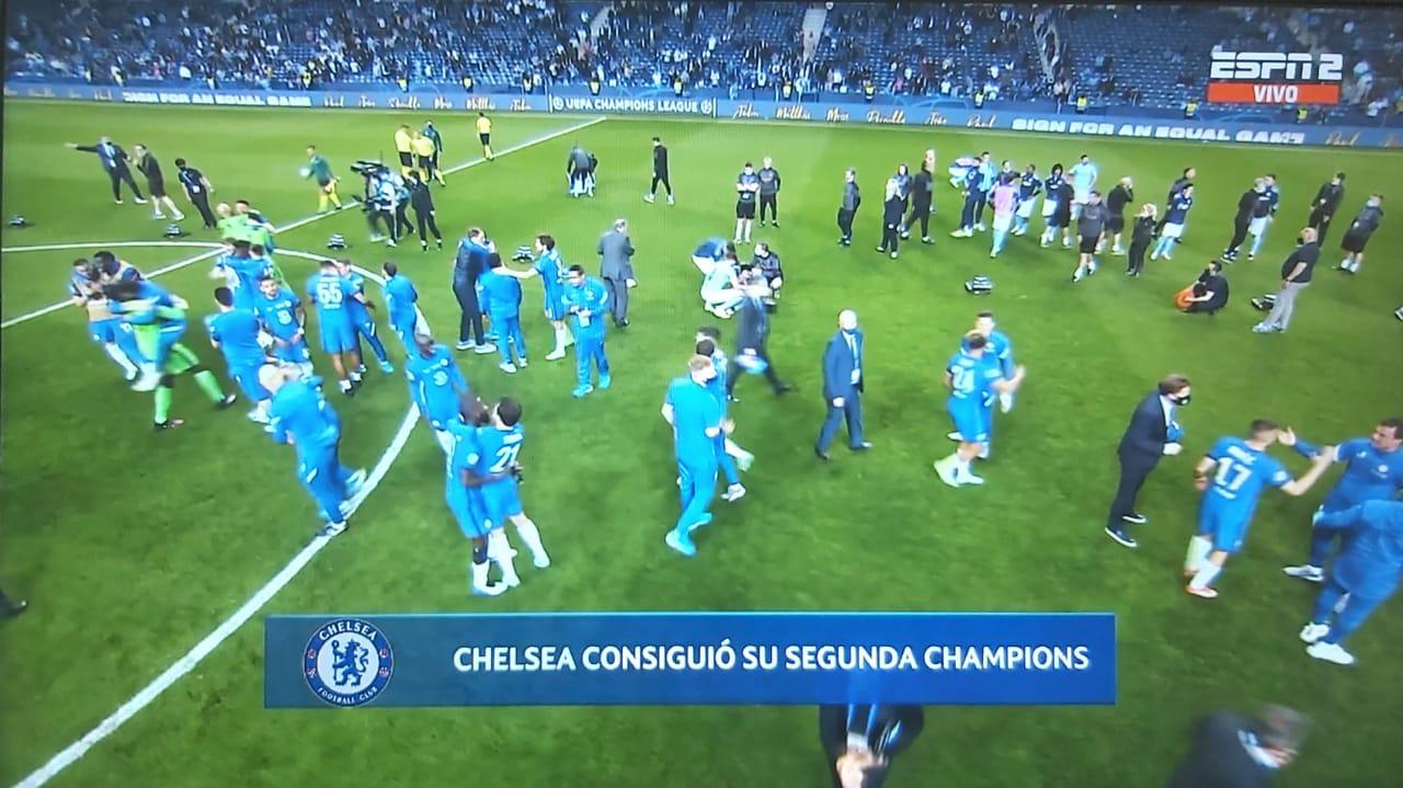 Con 16.500 espectadores se juega la final de la Champions League 14