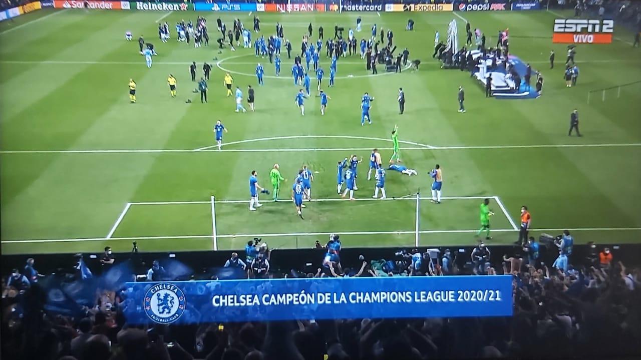 Con 16.500 espectadores se juega la final de la Champions League 10
