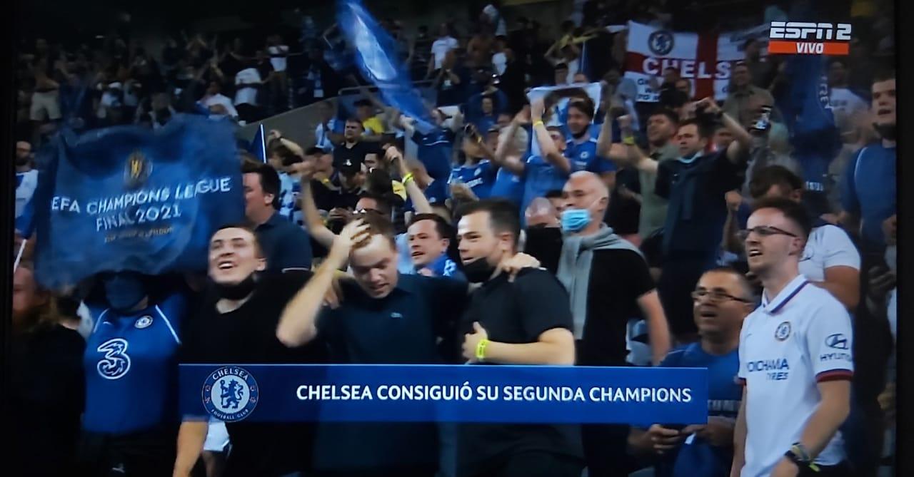 Con 16.500 espectadores se juega la final de la Champions League 12