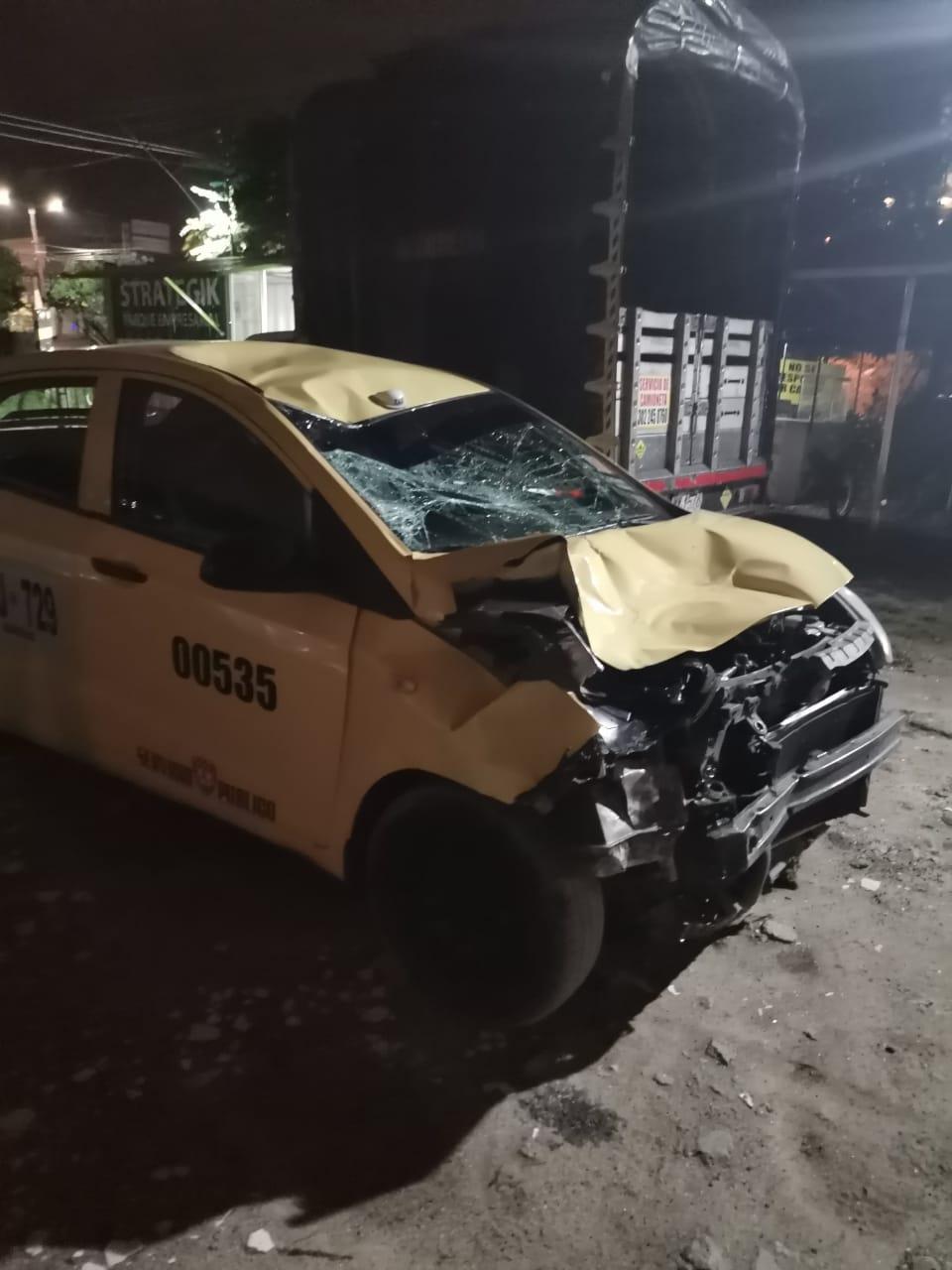 Padre e hijo eran los dos hombres arrollados por taxista 7