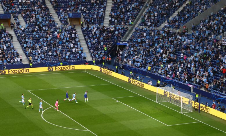 Con 16.500 espectadores se juega la final de la Champions League 3