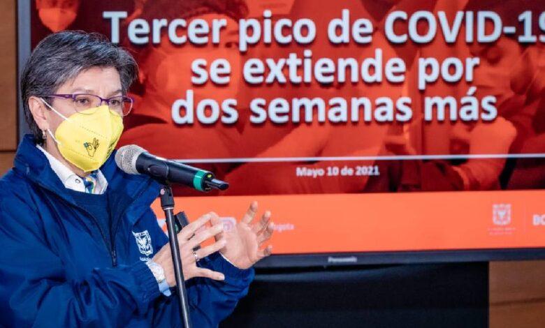 Alcaldesa de Bogotá fue diagnosticada como positivo para Covid-19 1