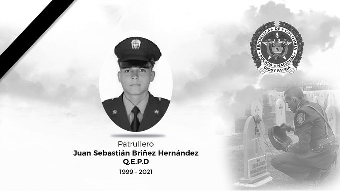 Asesinaron en Cali a un patrullero de la Policía Tolima 1