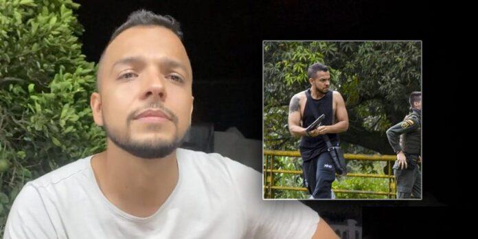 Empresario caleño que disparó a manifestantes a indagatoria en la Fiscalía 1
