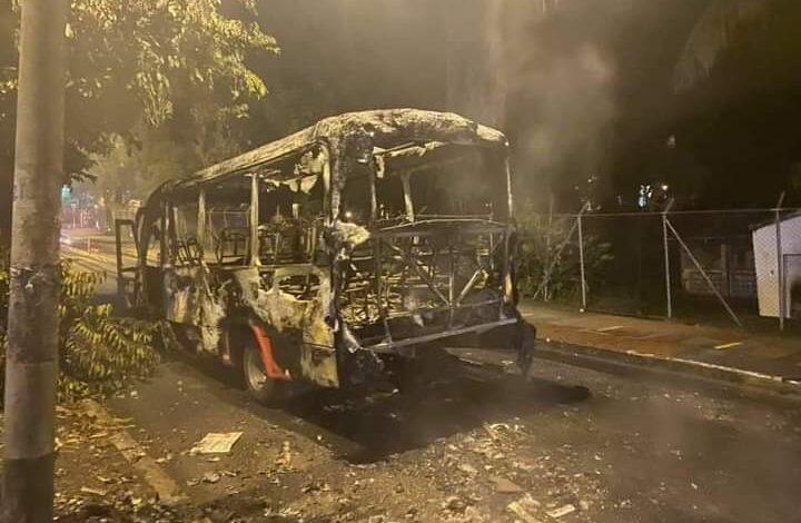 Empresa de trasporte denuncia negligencia por parte del secretario de Gobierno durante vandalismo 5