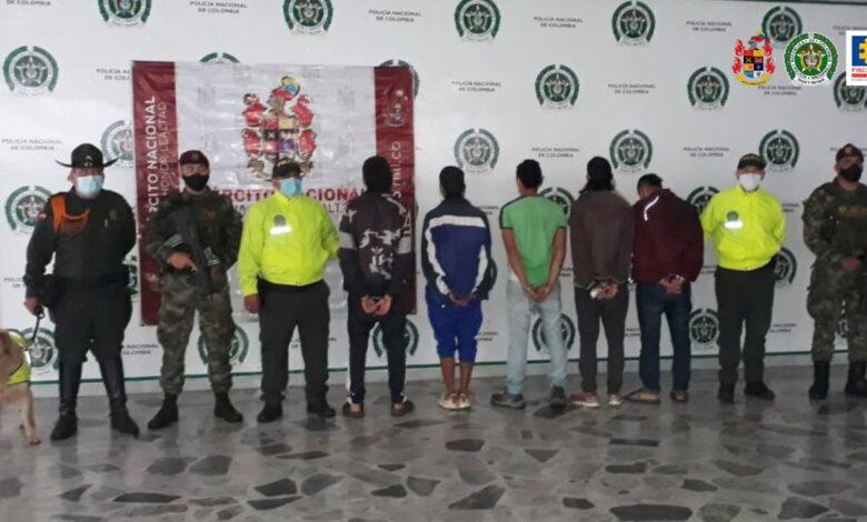 """Acabaron con """"El Eslabón"""", una banda dedicado al microtráfico en Ibagué 1"""