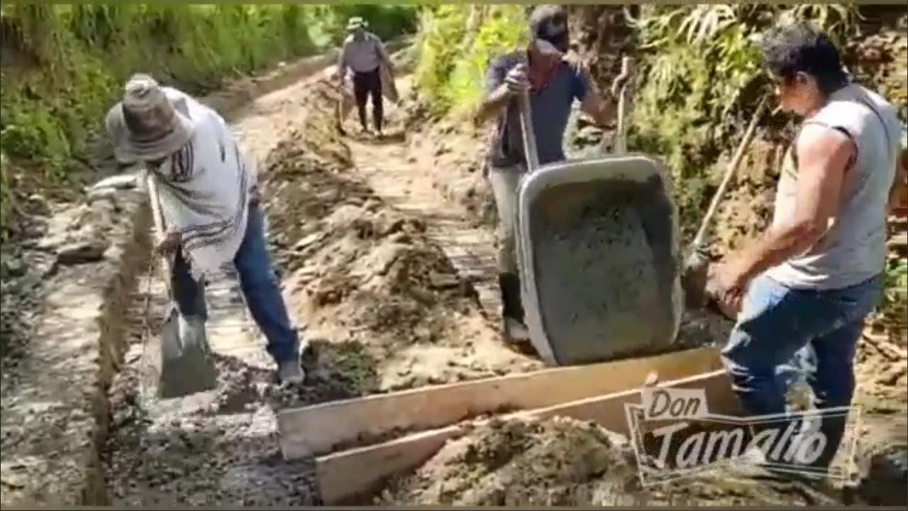 Villahermosa le puso la panela a las vías terciarias 4