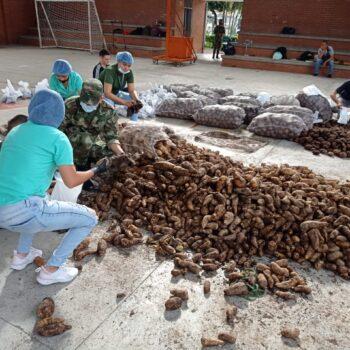 1100 mercados se vendieron en Ibagué, producidos por 300 familias campesinas de Santa Isabel 4