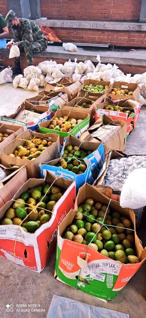 1100 mercados se vendieron en Ibagué, producidos por 300 familias campesinas de Santa Isabel 3