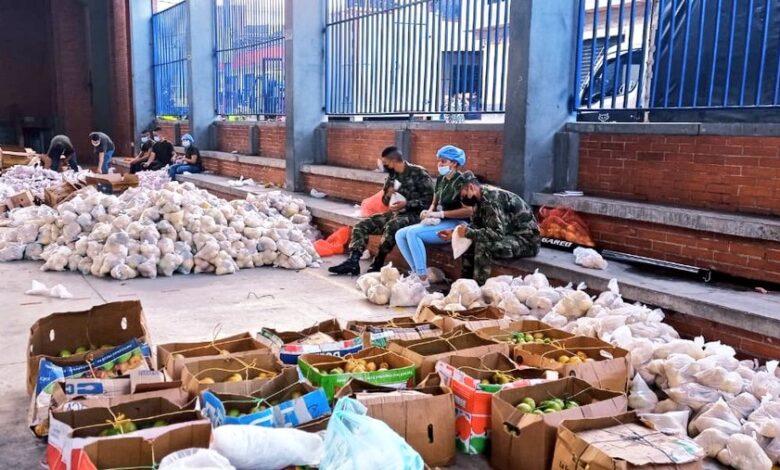 1100 mercados se vendieron en Ibagué, producidos por 300 familias campesinas de Santa Isabel 1