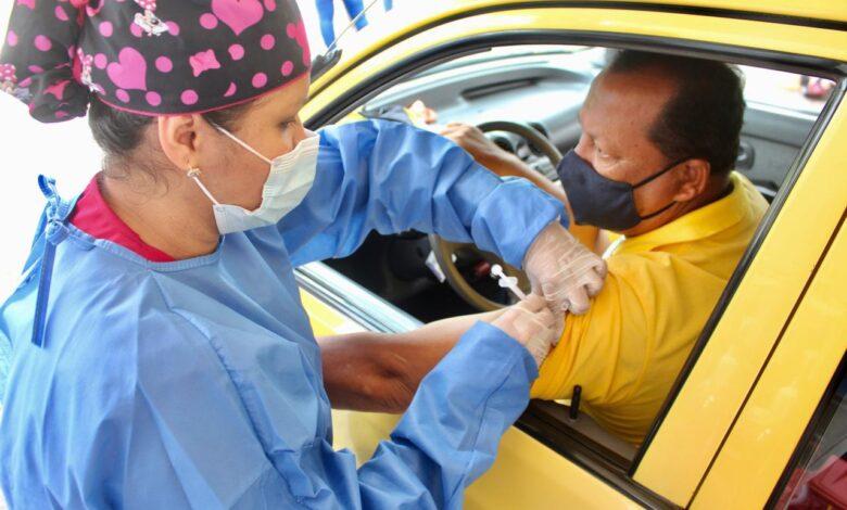 ¡Atención taxistas! Hoy es la segunda jornada de vacunación contra el Covid-19 1