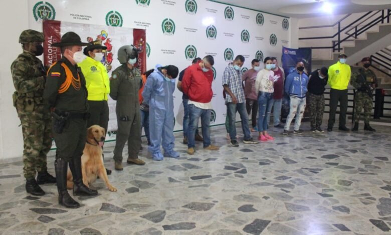Estas 11 personas eran las encargadas de expender drogas a domicilio en al menos 61 barrios de Ibagué 3