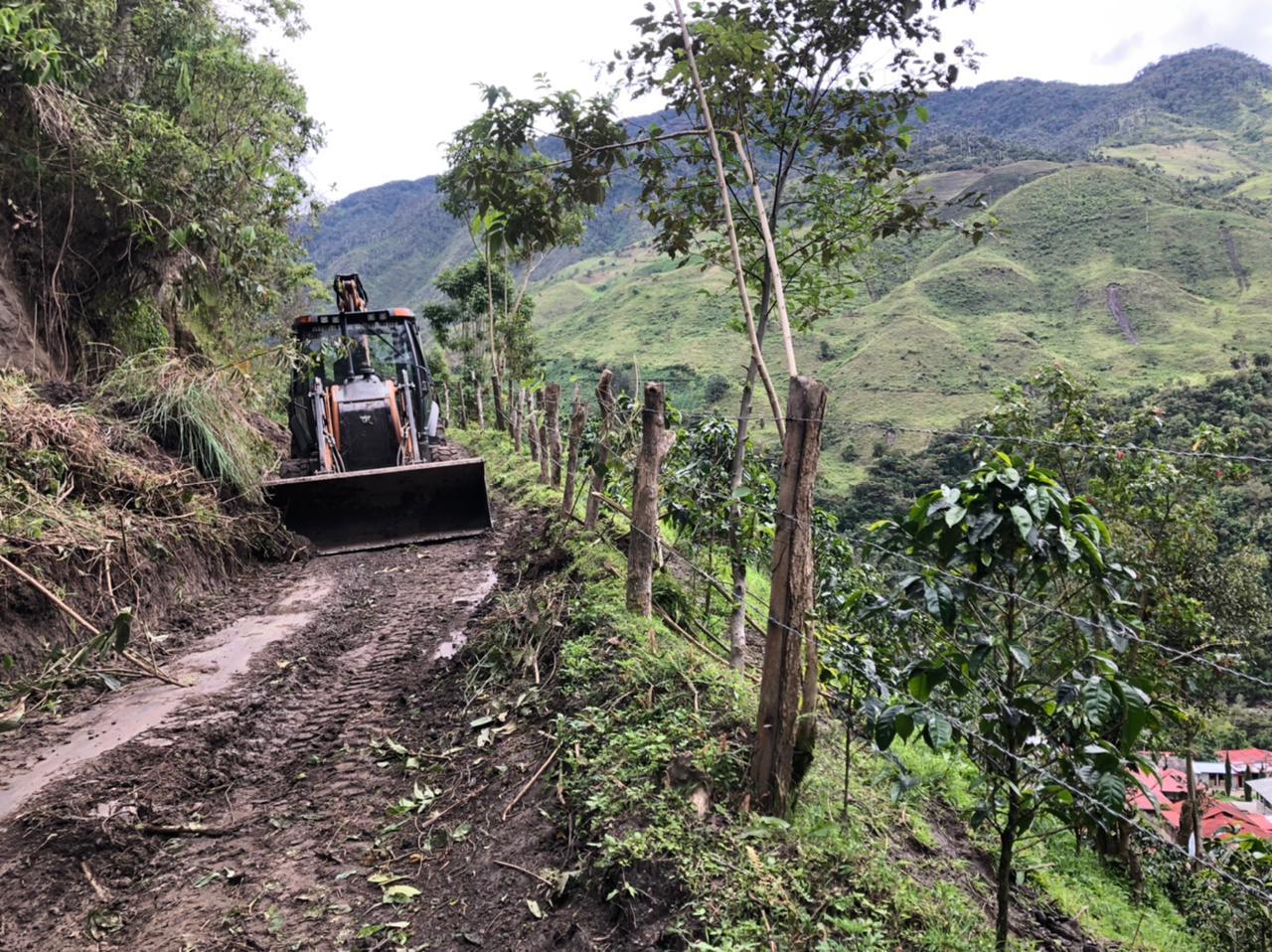 Cuatro emergencias por lluvias se atendieron en zona rural de Ibagué 4