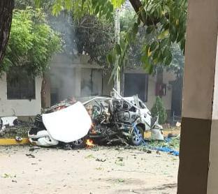 Atentado con carrobomba dejó varios militares heridos en la Brigada 30 del Ejército en Cúcuta 1