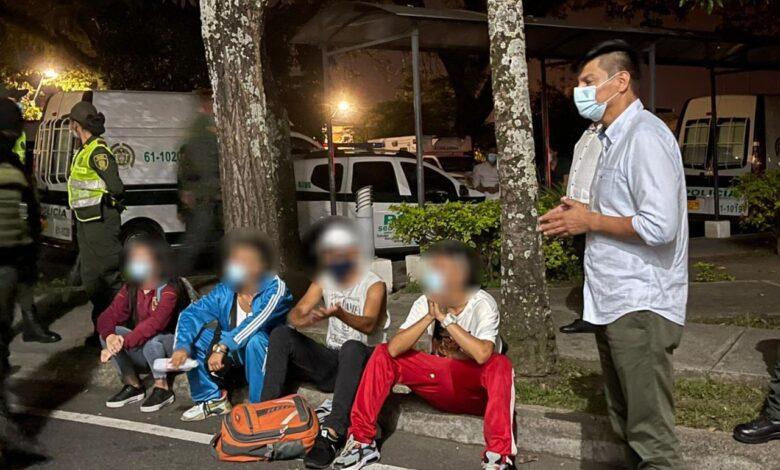 14 conducidos por la Policía y nueve comparendos dejó la noche del 28 de junio en Ibagué 1